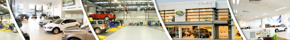 A Clean City -Automotive showrooms -
